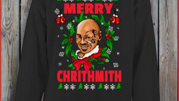 merry-chrithmith-mike-tyson-ii-christmas-funny-sweater-sweat-recovered
