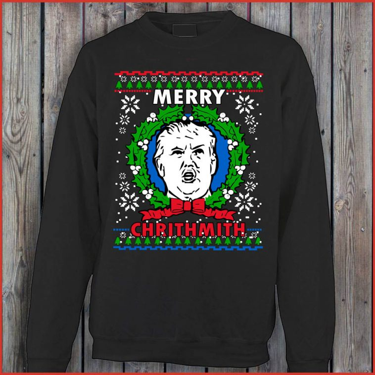 Donald Trump Christmas Funny Sweater