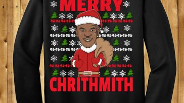 Merry Chrithmith Mike Tyson Funny Sweater