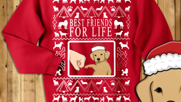 Doggy Best Friend Funny Sweater