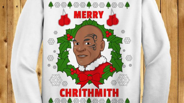 Mike Tyson Merry Chrithmith (WHITE)