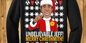 Unbelievable Jeff Chris Kamara Christmas CHRITHMITH Funny Sweater
