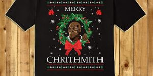 Merry Chrithmith Sweater T-Shirt. Ugly Christmas (Shirt)